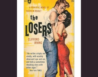 The Losers Flat Cards Fun Gift