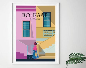 Colombia Guatape Enhanced Matte Paper perfect for your wall !Instant Digital Download  A2 Vintage Travel Poster