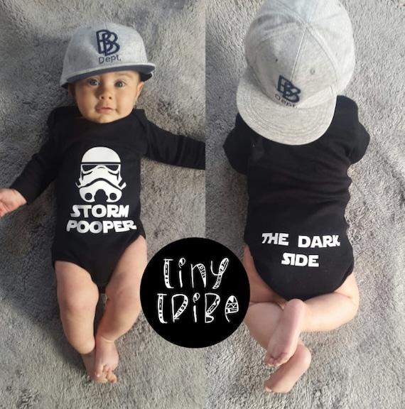 Star Wars Storm Pooper Baby Bodysuit Shower Gift//Present Bodysuit Vest