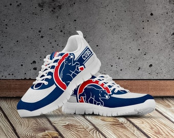 41092204f Chicago Cubs Shoes, Chicago Cubs Custom Shoes for Men, Women and Kids  Sizes. Chicago Cubs Baseball, Chicago Cubs Inspired Shoes