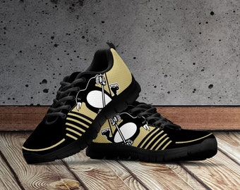 96cd3bd3 Pittsburgh Penguins Shoes, Pittsburgh Penguins Custom Shoes for Men, Women  and Kids Sizes. Pittsburgh Penguins Ice Hockey Accessories