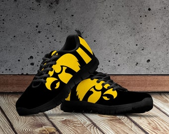 separation shoes 9a24d b39ac Iowa Hawkeyes Shoes, Iowa Hawkeyes Custom Sneakers for Men, Women and Kids  Sizes. Iowa Hawkeyes Running Shoes Accessories