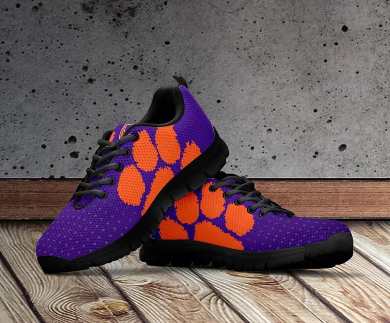 b5666fd9c Clemson Tigers Shoes Clemson Tigers Custom Sneakers for Men