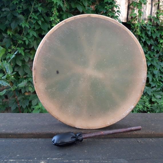 Tambour de chaman 40 cm avec impression
