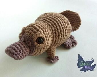 Crochet Platypus Etsy