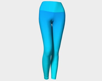 4d152a6209db8 Blue Ombre Yoga Pants