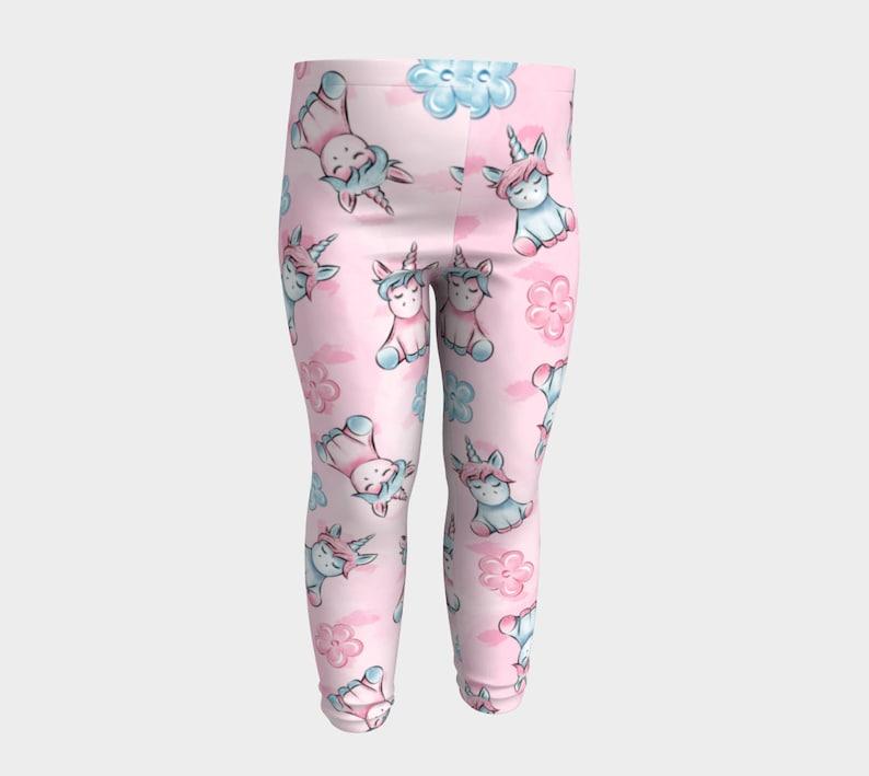 Cute Unicorn Baby Leggings Unicorn Pattern Pattern Leggings Unicorn Leggings Unicorn Print Printed Leggings Cute Leggings