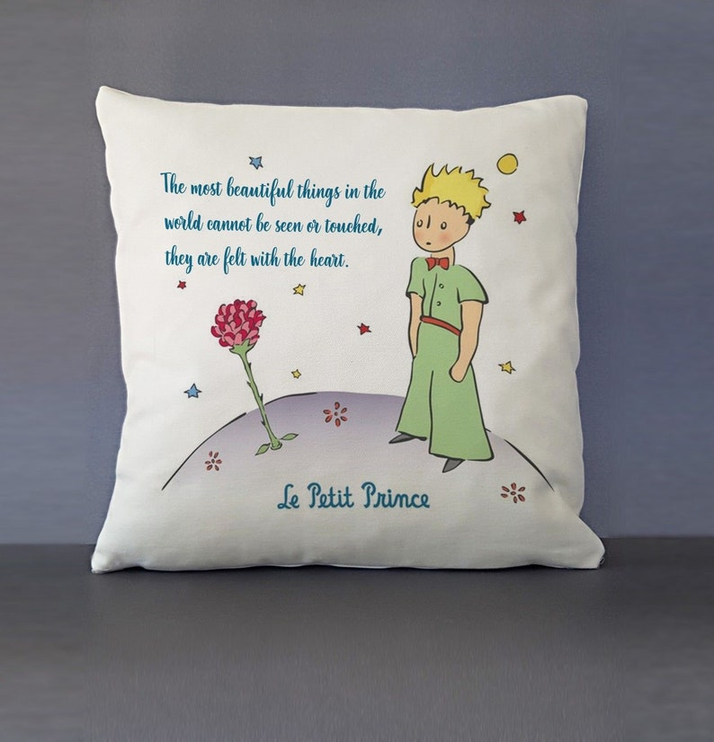1 Embroided  Cushion Ideal Gift Princess Or Prince