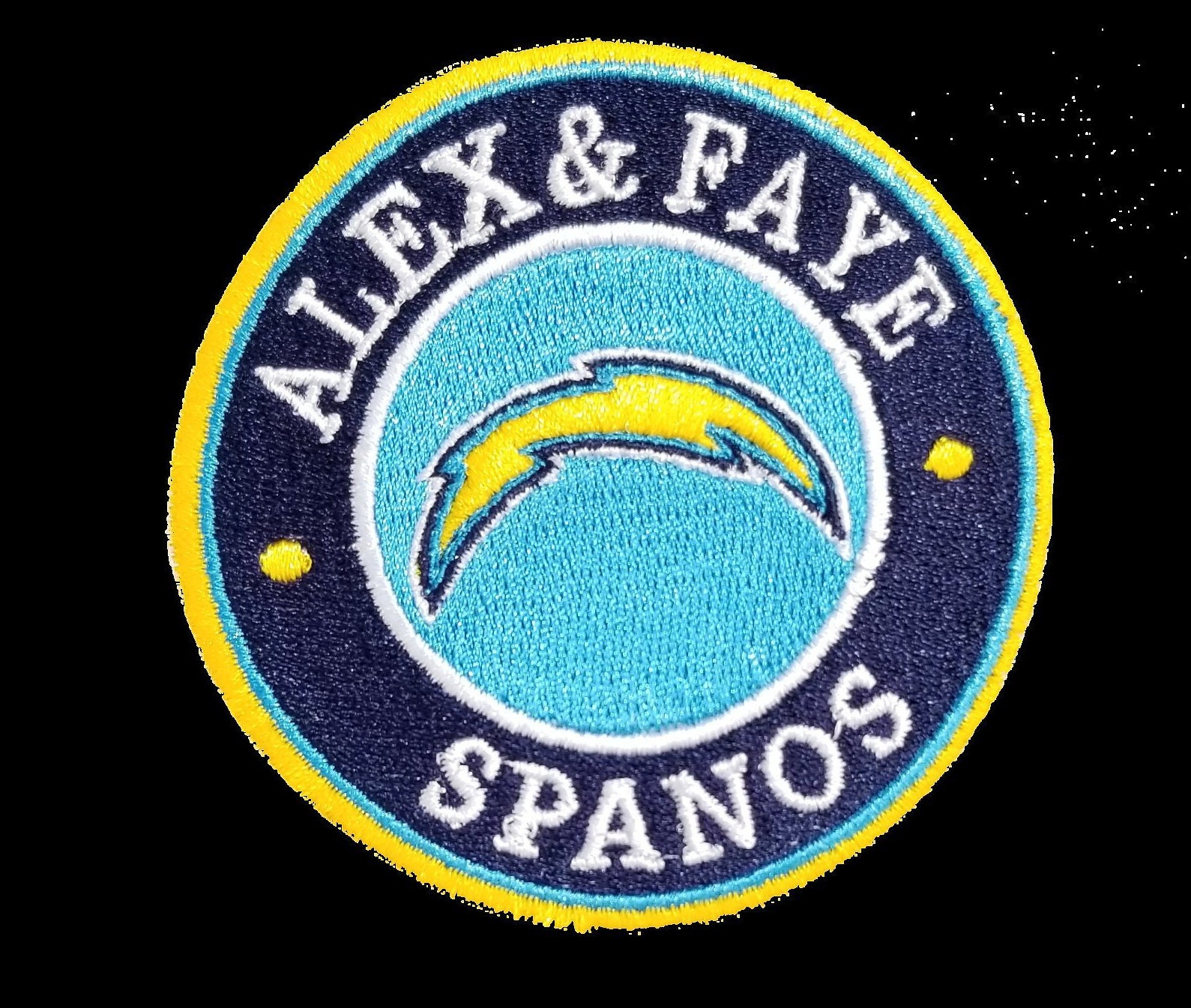 8f11c2ba711 Alex   Faye Memorial Patch Los Angeles Easy Iron On