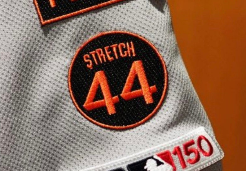 360bd64c5d5 Stretch 44 Patch Willie McCovey Memorial San Fransisco Giants
