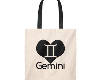 b59e909e499b Love Gemini Zodiac Tote Bag