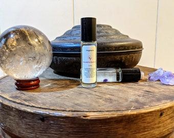 Hogwarts Fragrance Roller / Book Inspired Coconut Oil Based Roller Ball Perfume / Harry Potter / J.K. Rowling /Unisex Fantasy Inspired Scent