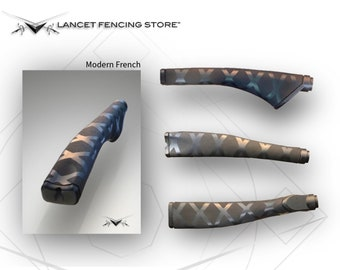 Modern French Fencing handle / grip for  Foil, Epee, Saber, and Historical European Martial Arts / HEMA  ( Modern French Grip )