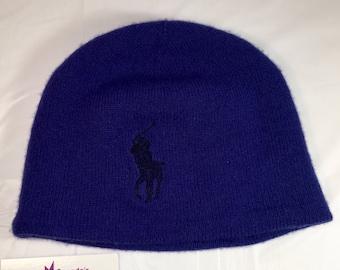 3e8998689b6 90s Vintage Ralph Lauren Polo Beanie Toque   1990s Ralph Lauren Pony Horse  Man Winter Hat - Retro Hip Hop Clothing - FREE Shipping