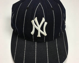 90s Vintage New York Yankees Fitted Baseball Hat   1990s Stall And Dean NY  Yankees MLB Baseball Team Hat - Hip Hop Clothing - FREE Shipping 57a173219be7