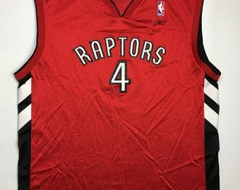 5b82b44ead98 1990s Vintage Toronto Raptors Chris Bosh Basketball Jersey - 90 s Raptors NBA  Basketball Jersey - 90s Hip Hop Clothing - Retro Streetwear