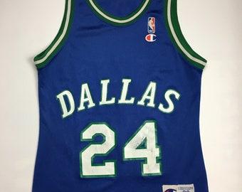 8d9522d18 1990s Vintage Dallas Mavericks Champion Basketball Jersey - 90 s Mavericks  NBA Jersey - 90s Hip Hop Clothing - Retro Streetwear