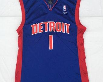 1990s Vintage Detroit Pistons Jersey BILLUPS - 90s Reebok Detroit Pistons  NBA Basketball Jersey - 90s Hip Hop Clothing - Retro Streetwear 073a3555b