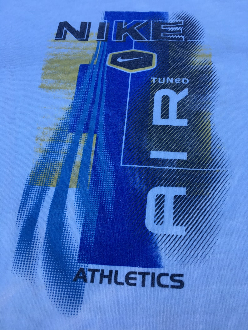 dc4ea8b24 1990s Vintage Nike Air Tee Shirt 90s Nike Air Athletics   Etsy