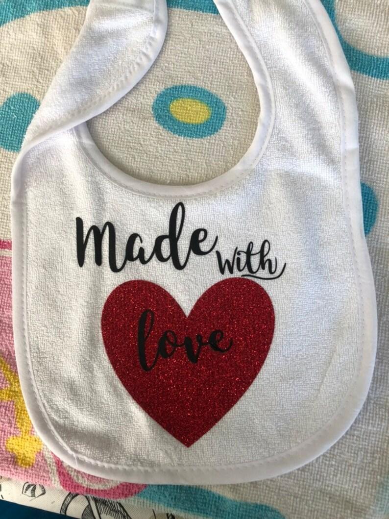 Baby custom bibs