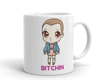 875b9f3fa93 Stranger Things Mug - Cute Eleven