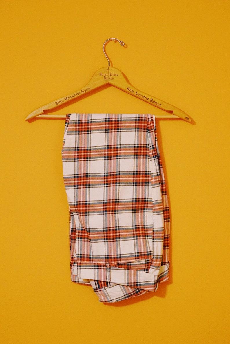 Women/'s Size 6 Christmas Color Plaid Pants M