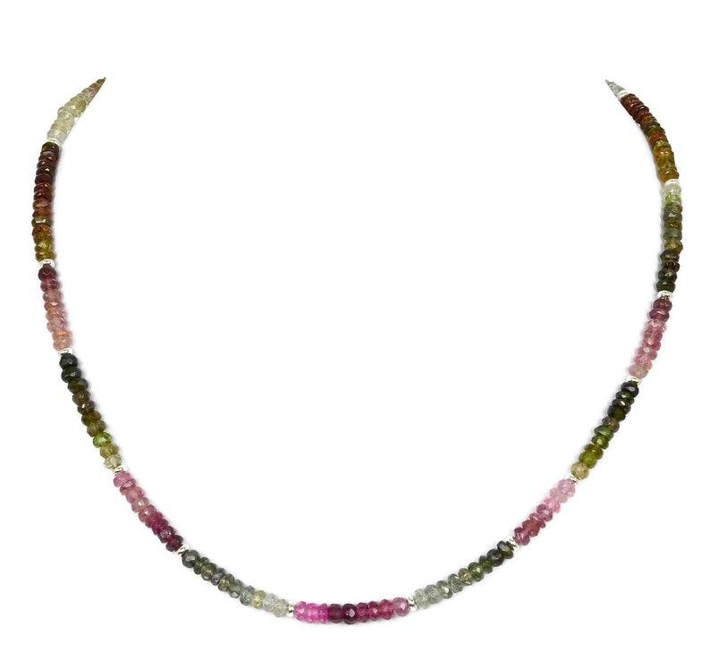 Tourmaline Chain Necklace