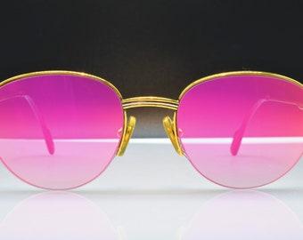 895e48ab4c5a Cartier Colisee vintage sunglasses fred cardin glasses C decor New