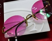 87c090755 Cartier rimless vintage sunglasses fred cardin glasses C decor New