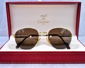 Cartier Colisee vintage sunglasses fred cardin glasses C decor New 51 20 140 brand new