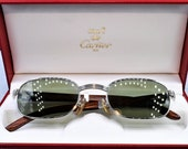 Cartier Louis Breteuil vintage sunglasses fred cardin glasses C decor New 50 22