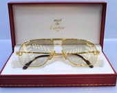 Cartier Tank vintage sunglasses fred cardin glasses C decor 59 12 Circa 1988