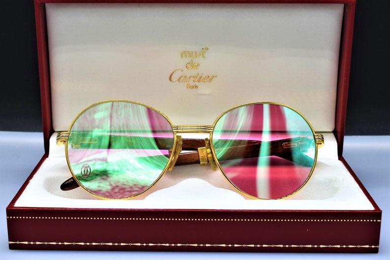7589b1d680d5 Cartier Louis Bagatelle vintage sunglasses fred cardin glasses