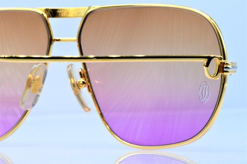 472e06f042d5 Cartier Tank vintage sunglasses fred cardin glasses C decor