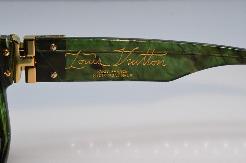 4bc75413f0a76 Louis Vuitton Millionaires 1.1 Virgil Abloh Green Very rare