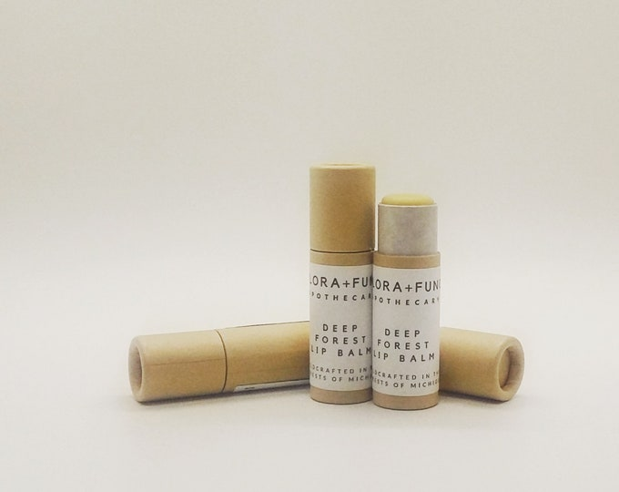Deep Forest Lip Balm (Organic)