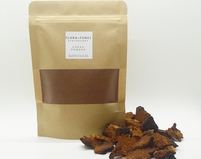 Wildcrafted Chaga Powder (4 oz.)