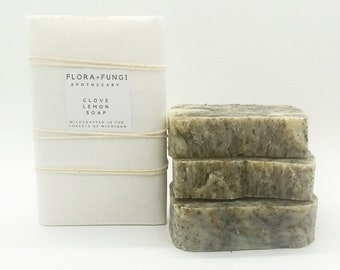 Clove Lemon Soap (Organic+Vegan)