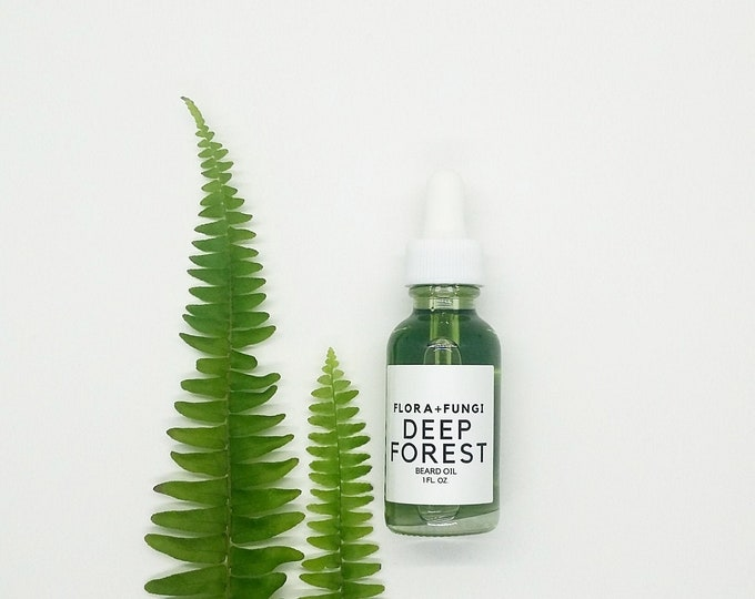 Deep Forest Beard Oil (Organic+Vegan+Wildcrafted)
