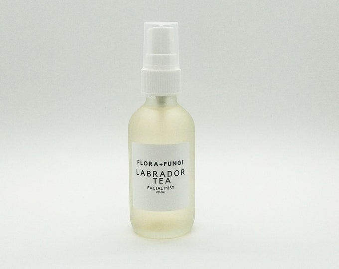 Labrador Tea Facial Mist (Wildcrafted+Organic+Vegan)