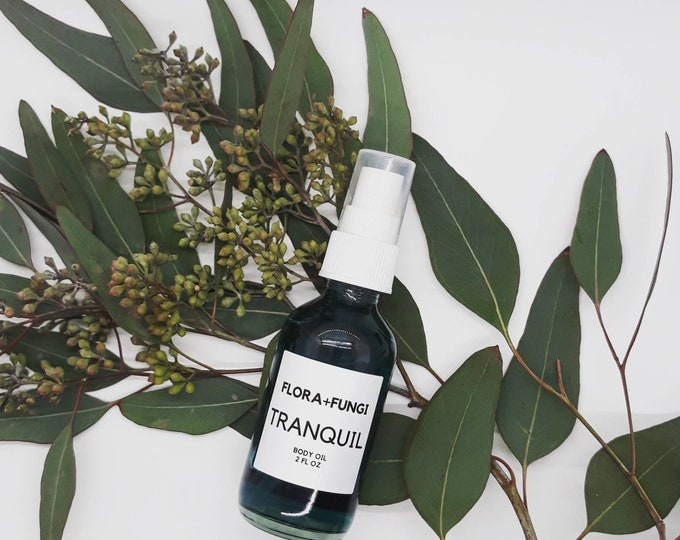 Tranquil Massage+Body Oil (Vegan+Organic)