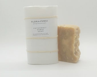 Patchouli Fungi Soap (Organic+Wildcrafted+Vegan)