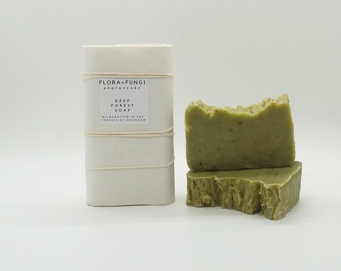 Deep Forest Soap (Organic+Vegan)