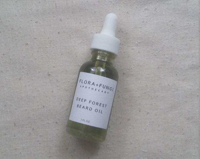 Deep Forest Beard Oil (Organic+Vegan+Wildcrafted)
