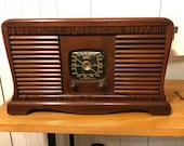 Vintage 1941 Zenith 5A10 Radio Now A Bluetooth Speaker FREE SHIPPING