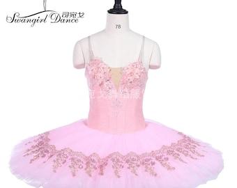 5bdd4e178768 Pink classical ballet tutu dress Adult Professional Ballet Tutus skirt Women  Pancake Tutu Custom Made Ballet CostumeBT9241