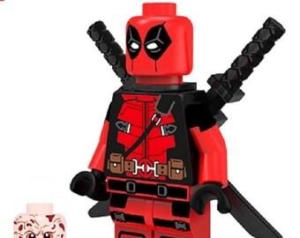 DEADPOOL movie version custom Lego Compatible Minifigure