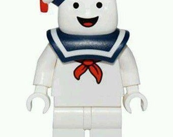 Stay Puft Marshmellow Man Inspired custom Lego Compatible Minifigure Ghostbusters