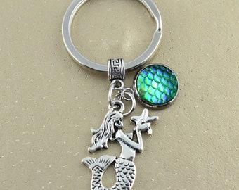 Abbigliamento e accessori Bambini 2 - 16 anni Mermaid Keyring Lanyard Keychain Bag Charm Gift In Purple