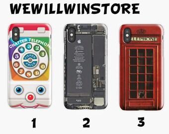 b177ea041 Telephone Card iPhone Case 6 S 7 8 Plus XR XS Max and Samsung Galaxy Case S  6 7 8 9 Edge Plus S10 E Plus, Telephone Tough Cases & 3D Cases